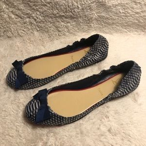 Christian Louboutin Gloriana Flat Watersnake